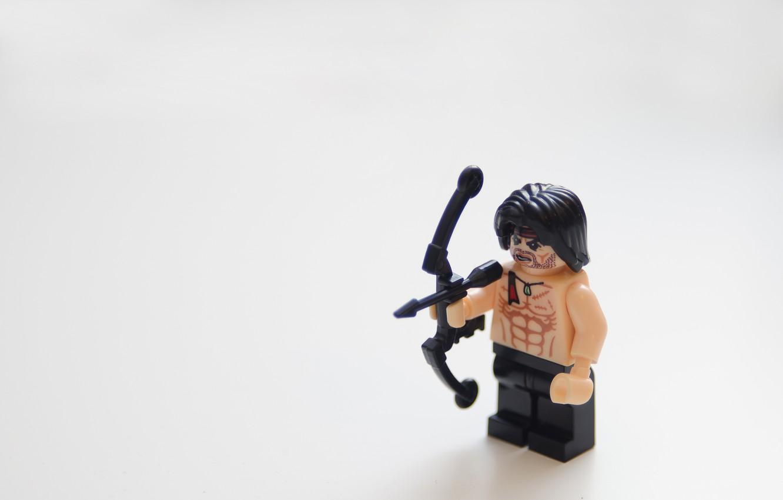 Фото обои фильм, lego, toy, лего, movie, rambo, рэмбо, stallone, first blood