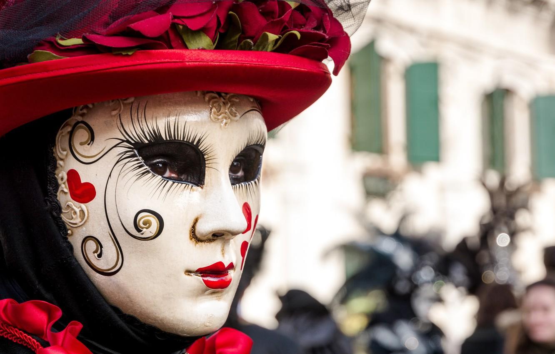 Фото обои маска, Италия, Венеция, карнавал, Venice