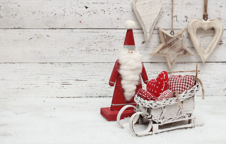 Фото обои украшения, игрушки, Новый Год, Рождество, сердечки, happy, Christmas, wood, hearts, New Year, Merry Christmas, Xmas, …