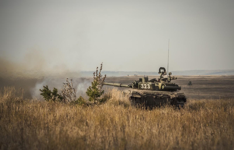 Фото обои танк, бронетехника, Т-90