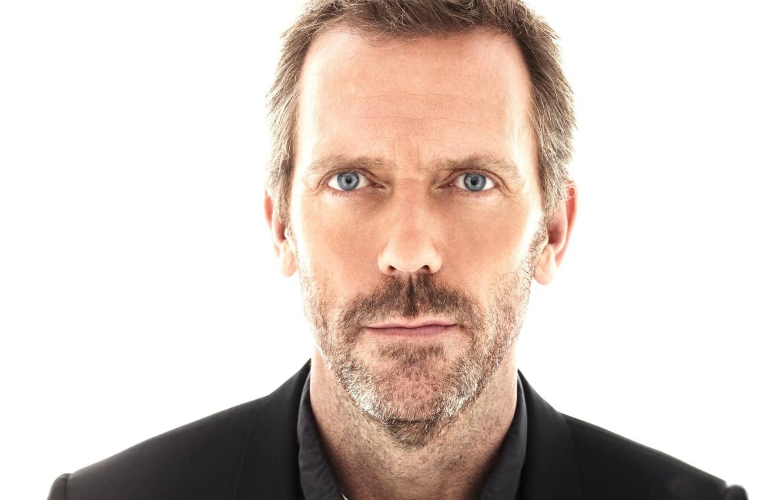 Фото обои взгляд, House M.D., Хью Лори, Доктор Хаус, сериал, Hugh Laurie, Грегори Хаус