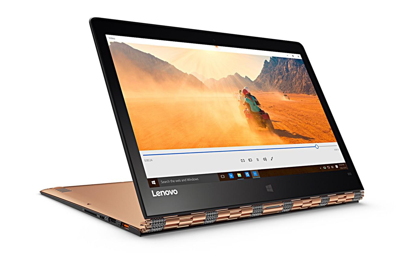 Фото обои белый фон, orange, Lenovo, IdeaPad YOGA, Ультрабук