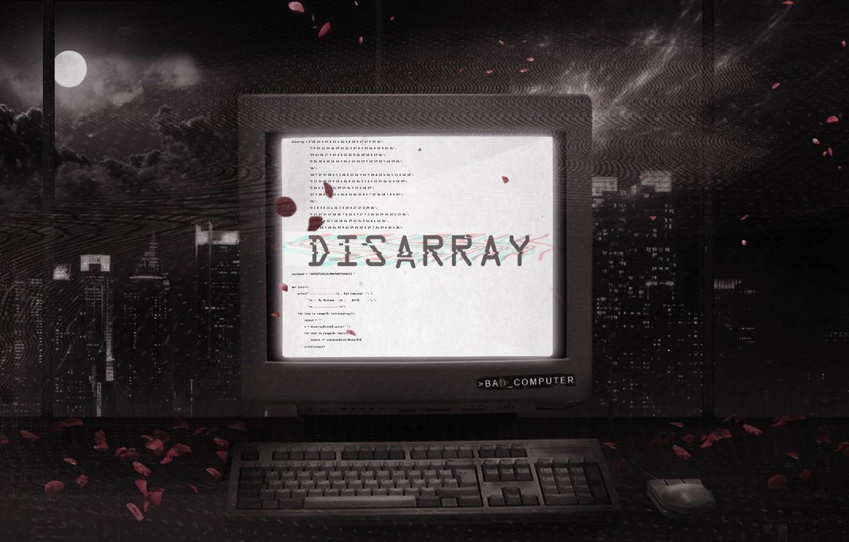 Фото обои Music, Cover, Monstercat, Bad Computer, Disarray