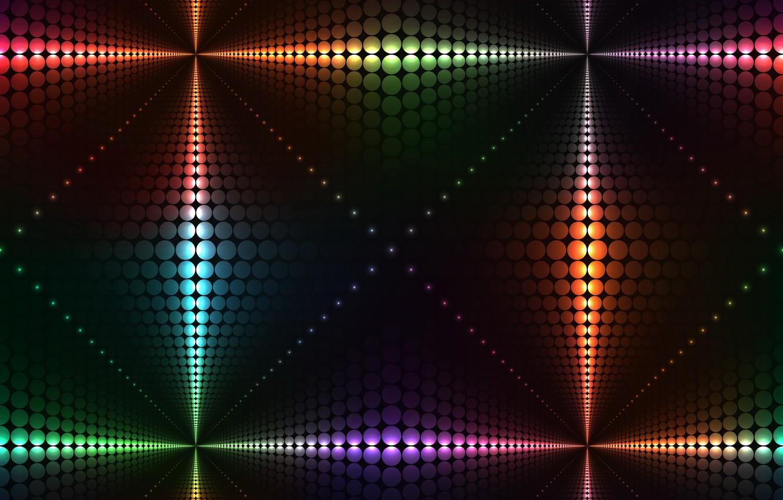 Обои неоновый, Abstract, rainbow, lights, colors, background. Абстракции foto 9