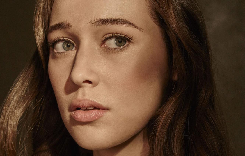 Фото обои портрет, актриса, Бойтесь ходячих мертвецов, Alycia Debnam-Carey, Fear The Walking Dead