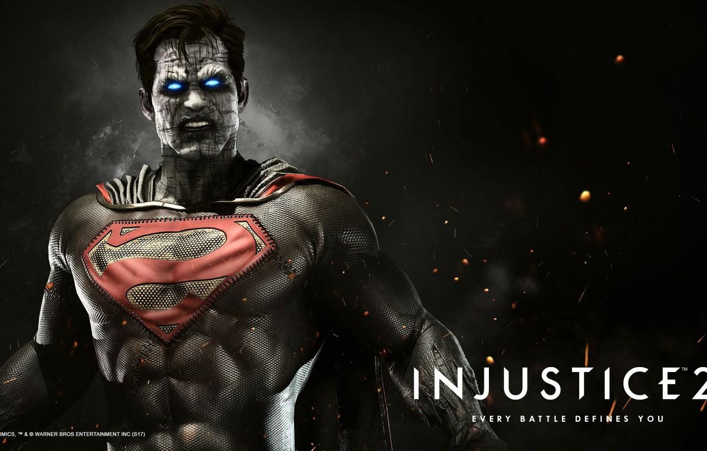 Фото обои game, Superman, fighting, clone, Bizarro, NetherRealm Studios, Injustice 2