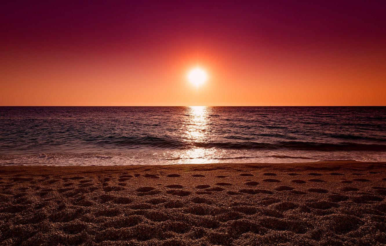 решил картинки закат на берегу моря же, рядом