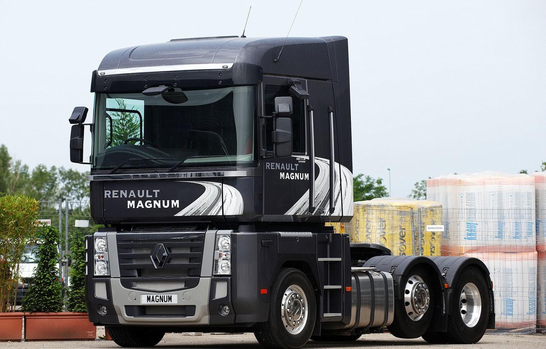 Фото обои Renault, Magnum, Worldwide