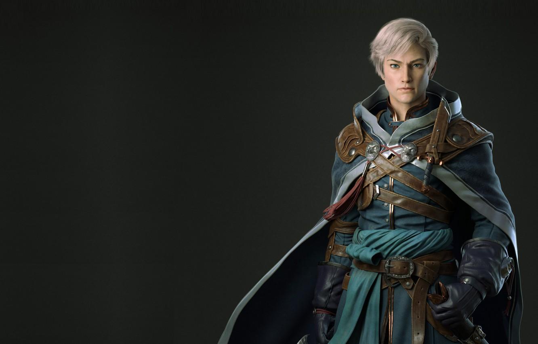 Фото обои игра, персонаж, дизайн костюма, dragon jiang, Male Practice