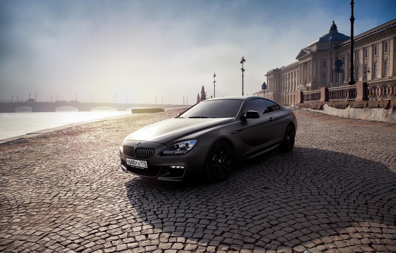 Фото обои car, машина, авто, мост, city, туман, гонка, bmw, бмв, тачка, спорт кар, автомобиль, need for …