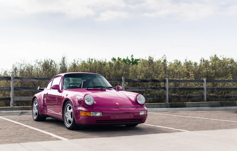 Фото обои 911, Porsche, turbo, 964