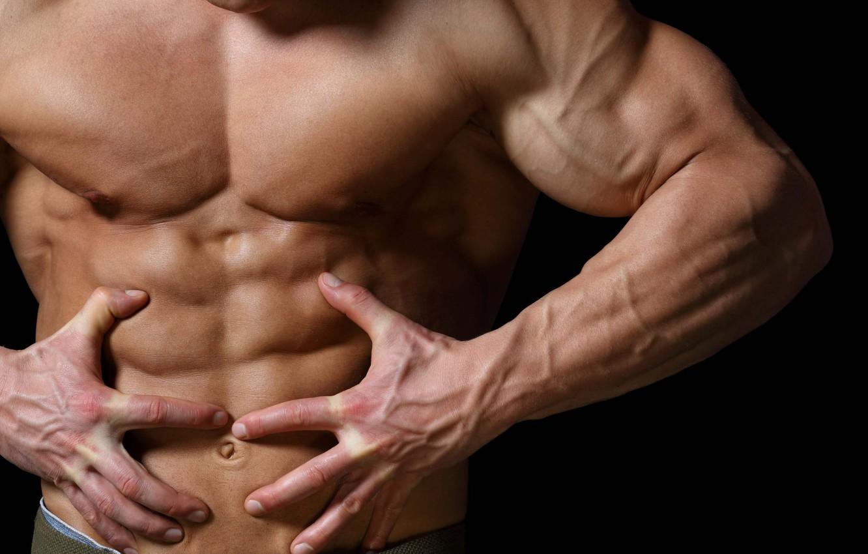Фото обои поза, muscle, мышцы, пресс, бодибилдер, abs, bodybuilder, Bodybuilder