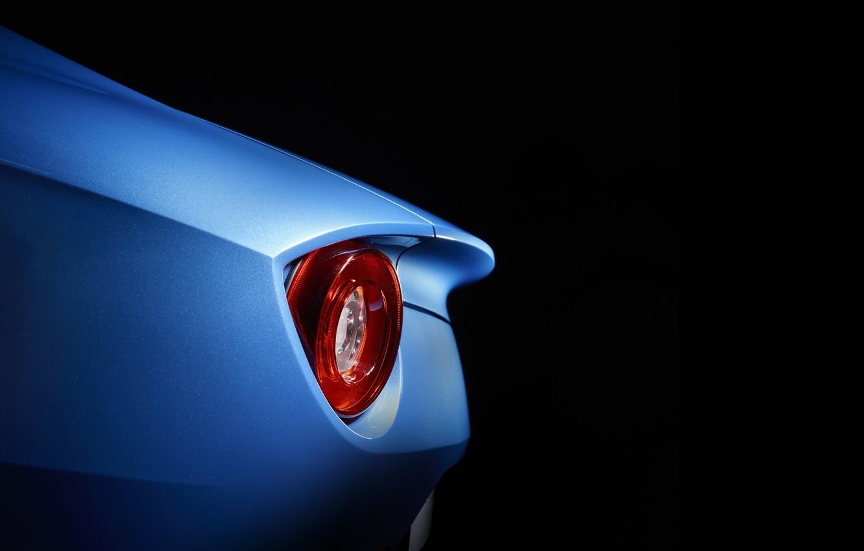 Фото обои фон, фонарь, автомобиль, Ferrari F12 Berlinetta