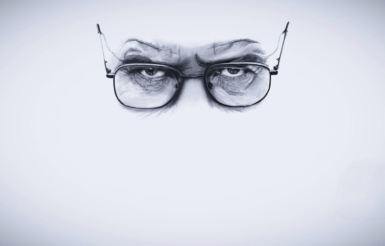 Фото обои глаза, взгляд, очки, Во все тяжкие, Breaking Bad, Walter White, Bryan Lee Cranston, Брайан Ли …