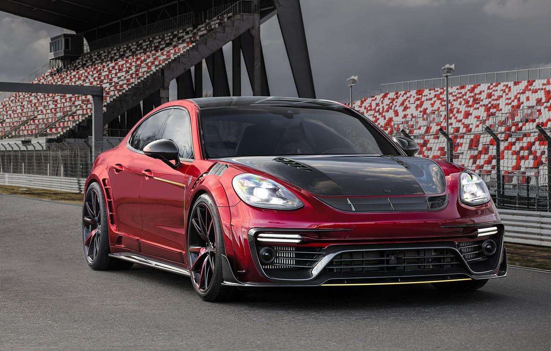 Фото обои Porsche, Panamera, порше, панамера, Mansory