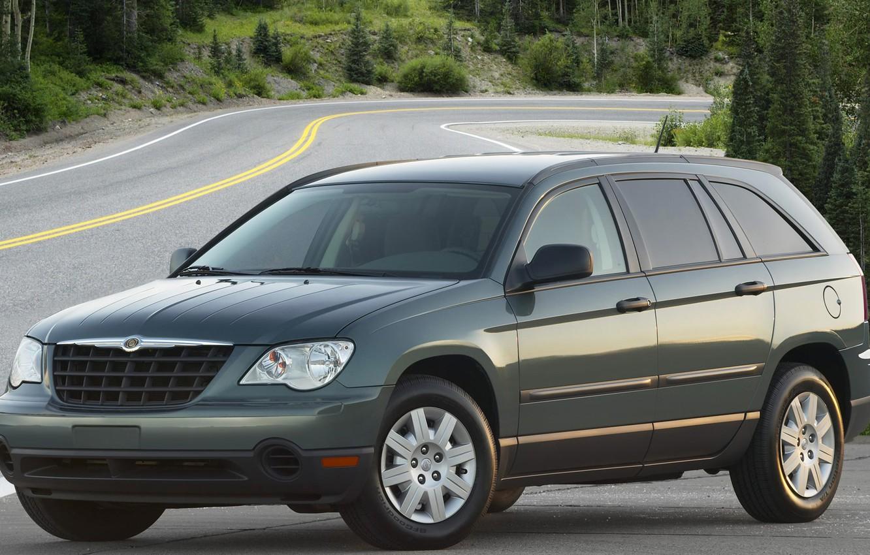 Фото обои Chrysler, минивэн, Pacifica