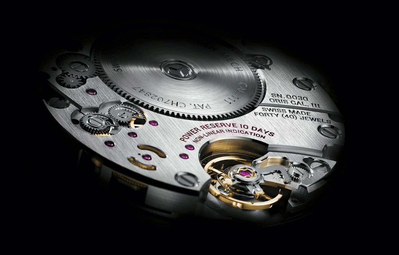 Фото обои фон, часы, механизм