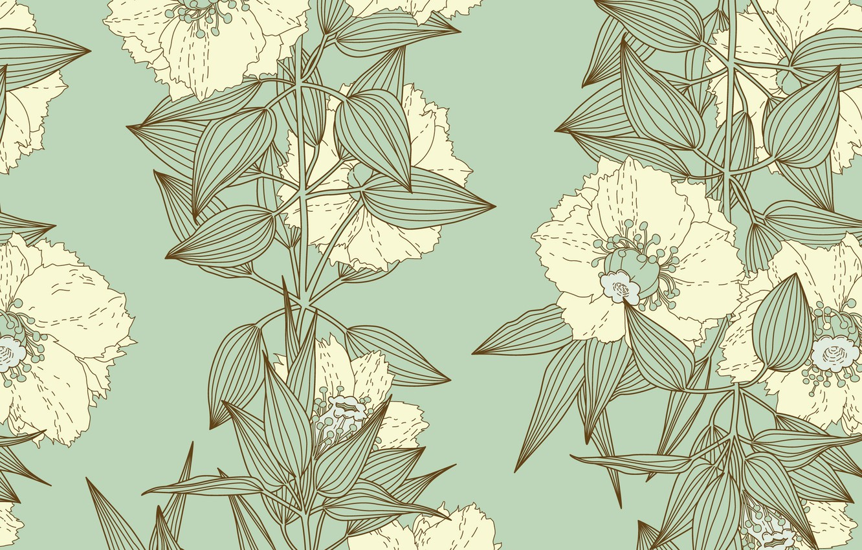 Фото обои цветы, текстура, витаж