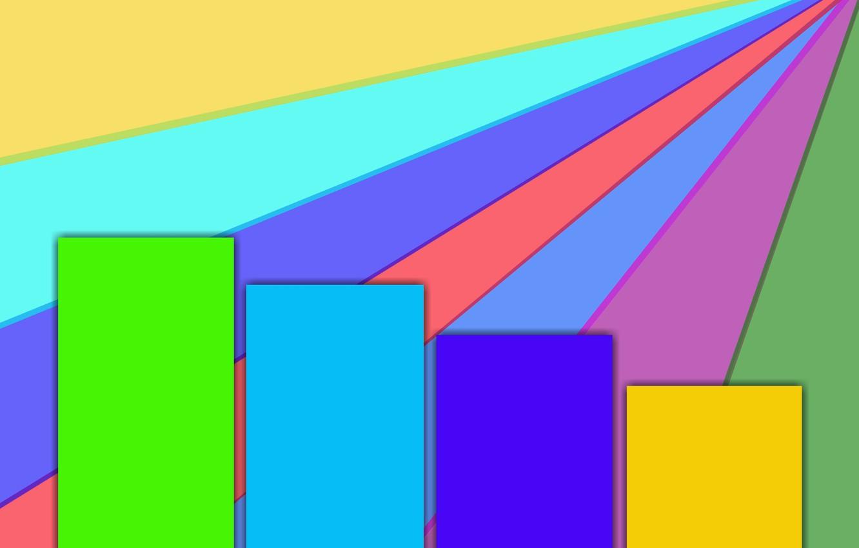 Обои абстракции, цвета, фигуры, лучи. Абстракции foto 13
