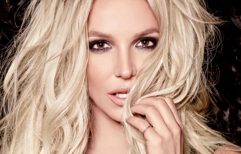Фото обои портрет, блондинка, Britney Spears, Бритни Спирс