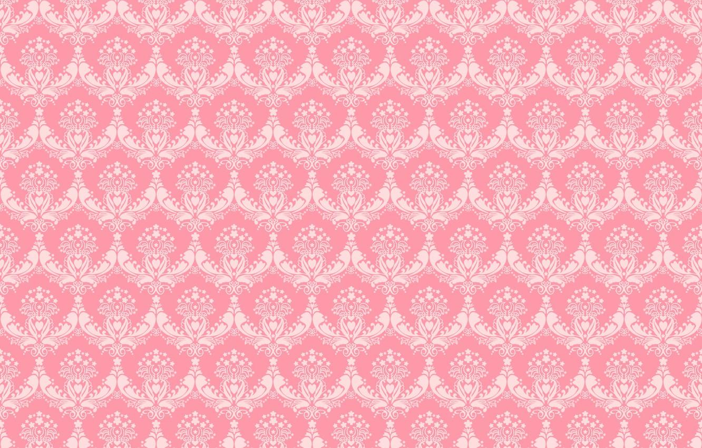 Фото обои фон, узор, текстура, орнамент, розовый фон