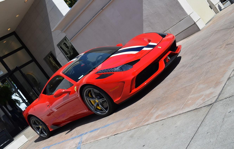 Фото обои Ferrari, Red, 458, Speciale