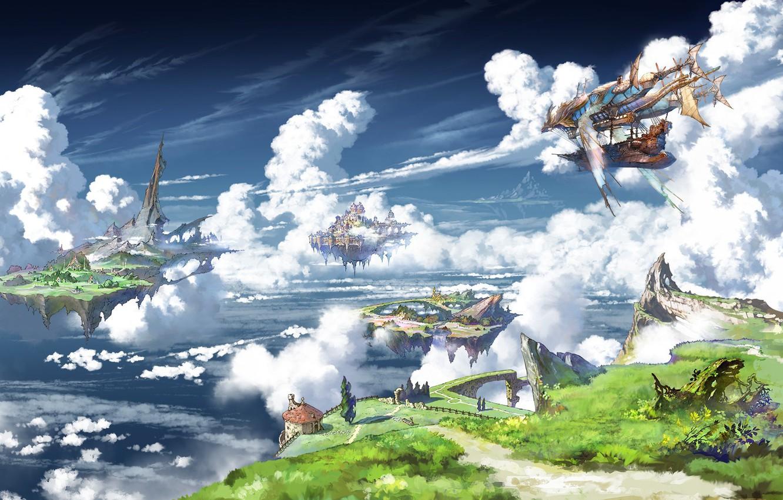 Фото обои fantasy, game, anime, asian, manga, asiatic, sugoi, Granblue Fantasy, japonese, 022