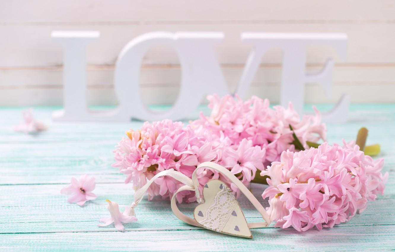 Фото обои любовь, цветы, буквы, love, vintage, heart, flowers, romantic, violet