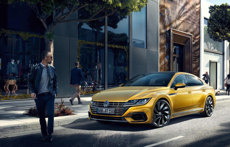 Фото обои Volkswagen, фольксваген, Arteon, артеон