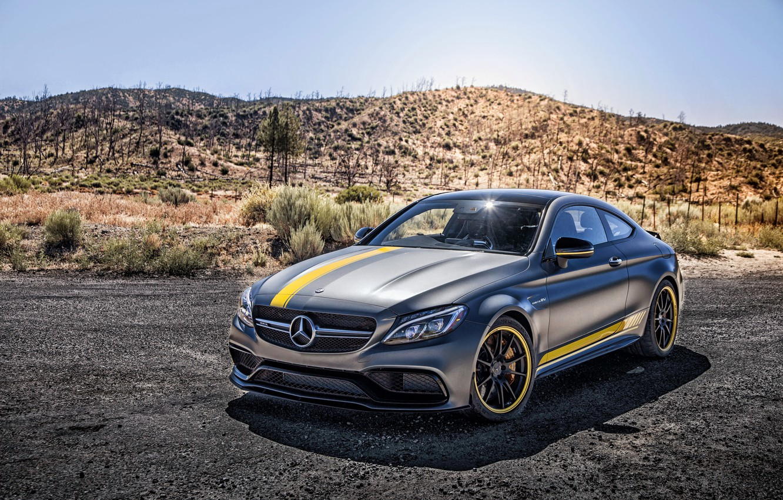 Фото обои купе, Mercedes, мерседес, AMG, Coupe, C-Class, C205
