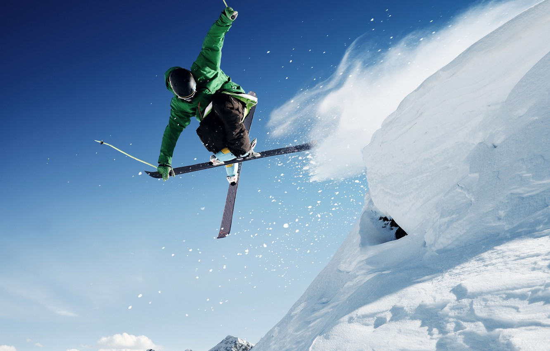 Обои Лыжи. Спорт foto 10