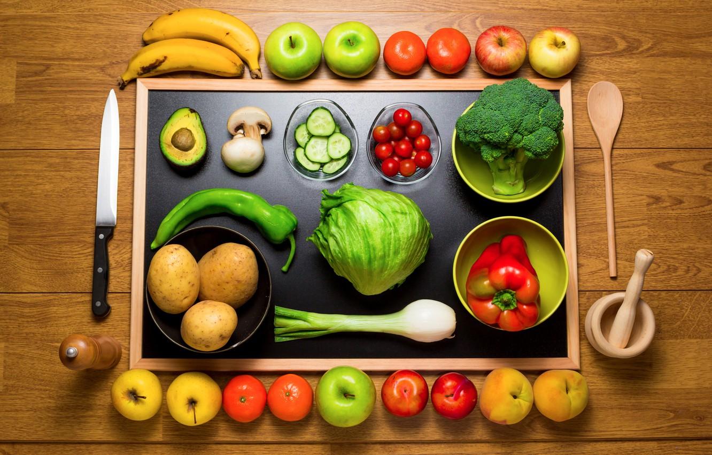 Обои Грибы, фрукты, овощи. Праздники foto 12