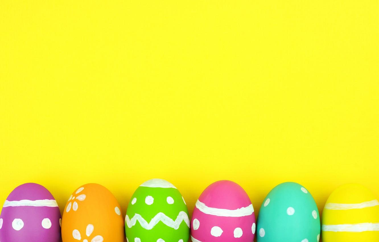 Фото обои colorful, Пасха, background, spring, eggs, Happy Easter, Easter eggs