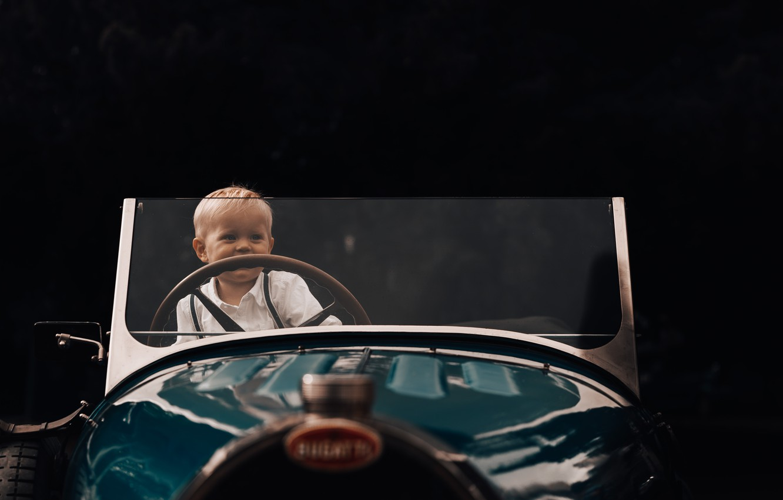 Фото обои машина, ребенок, мальчик, малыш