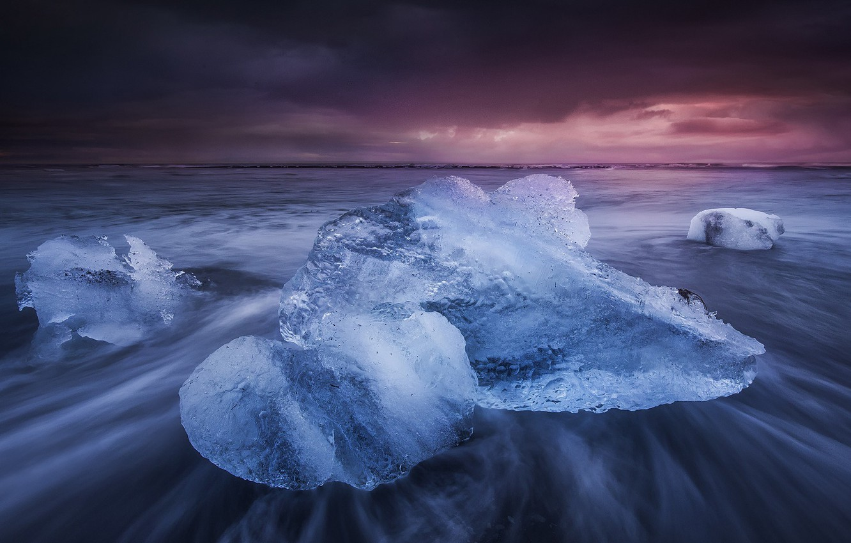 Обои ледниковая лагуна йёкюльсаурлоун, Исландия. Природа foto 11