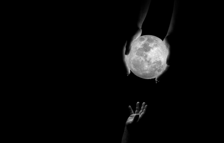Фото обои люди, мир, шар, руки