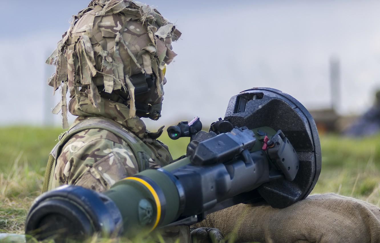 Фото обои армия, солдат, Light Anti-Tank Weapon