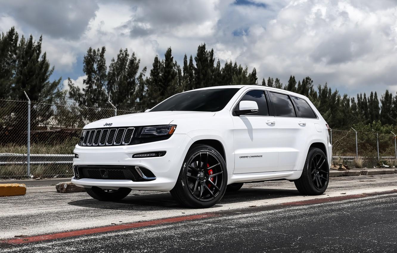 Фото обои wheels, SRT, Jeep, Grand Cherokee, Velgen, with 22