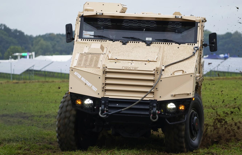 Фото обои военная машина, 6x6, Nexter, TITUS