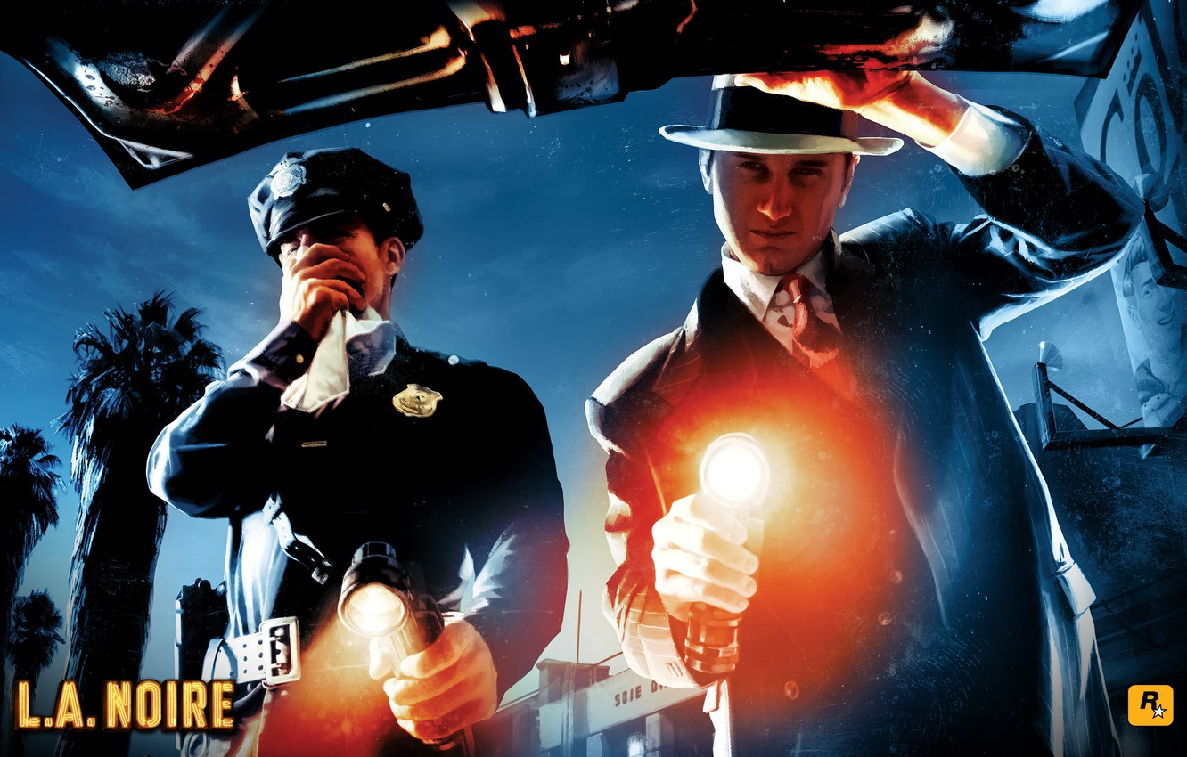 Фото обои case, l.a. noire, whats in the truck