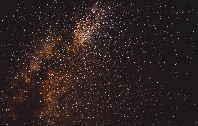 Фото обои небо, космос, звезды, галактика