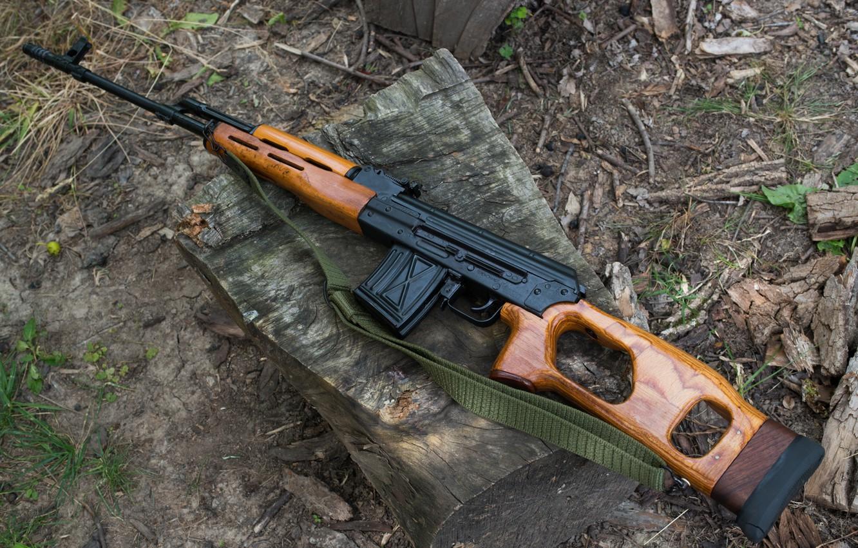 Фото обои винтовка, снайперская, самозарядная, румынского производства, PSL