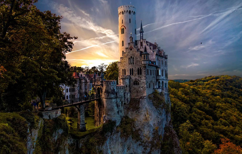 Обои замок, скалы. Разное foto 11