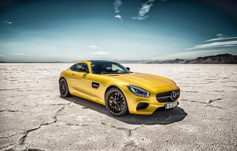 Фото обои Mercedes, суперкар, мерседес, AMG, C190, GT-Class