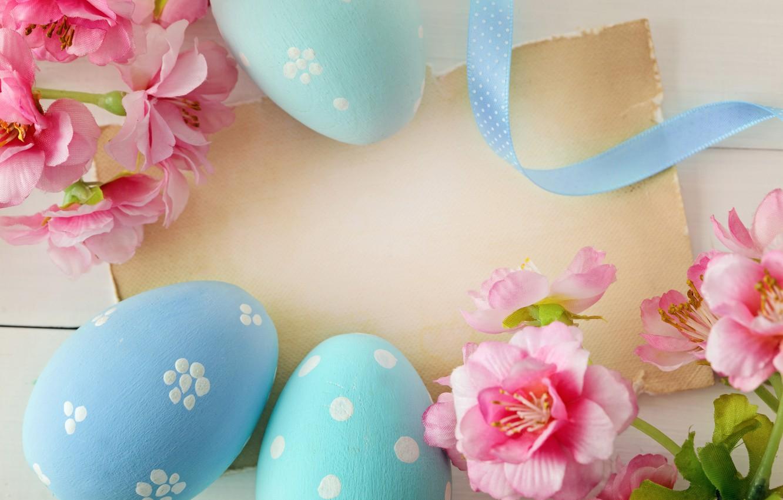 Фото обои цветы, Пасха, яйца крашенные, wood, spring, Easter, eggs, decoration, Happy