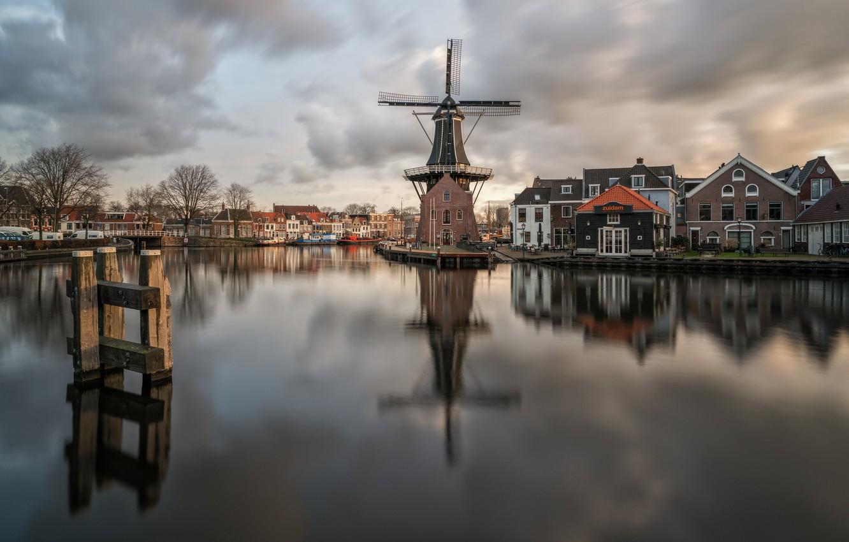 Обои нидерланды, Голландия, Haarlem. Города foto 6
