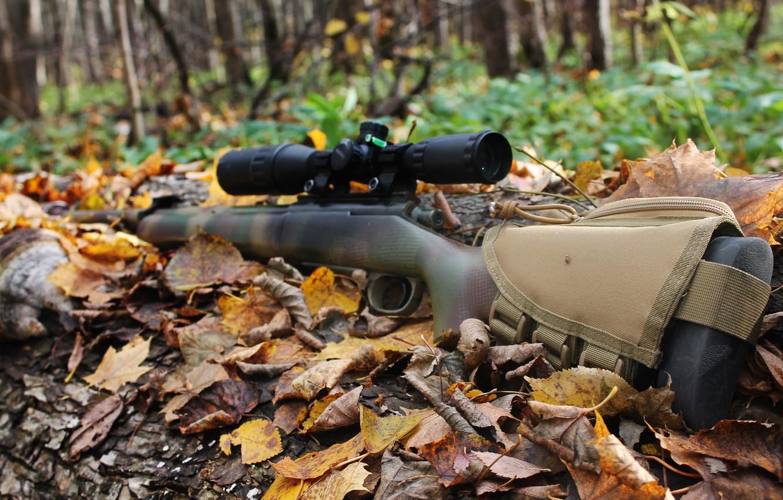 Фото обои октябрь, снайперская винтовка, sniper rifle, 2017