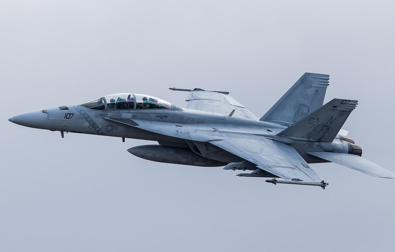 Фото обои полёт, самолёт, летит, боевой, VFA-102