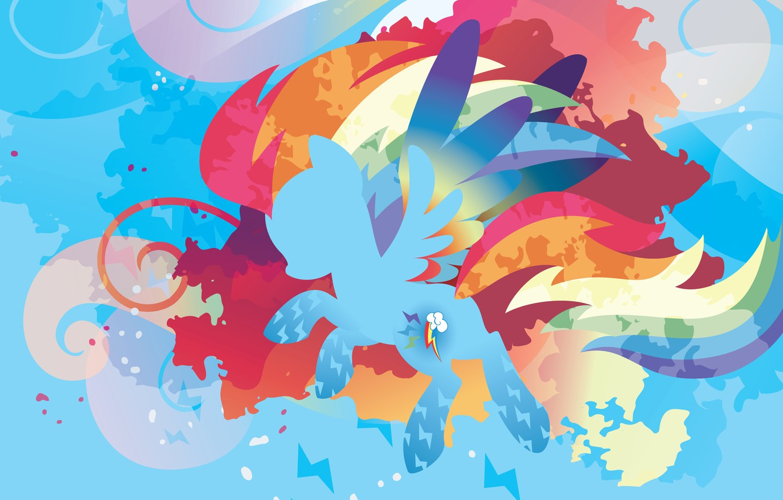 Фото обои фиолетовый, облака, оранжевый, синий, красный, розовый, голубой, молнии, радуга, red, разноцветный, blue, pink, orange, purple, …