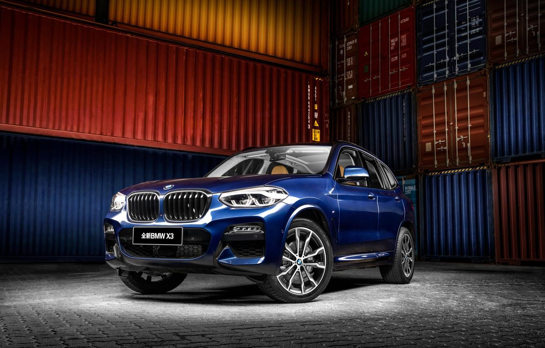 Фото обои бмв, BMW, кроссовер, X3M, G08
